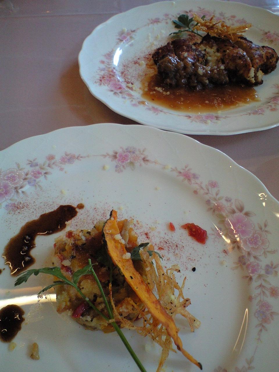 2種類から選べるメイン料理