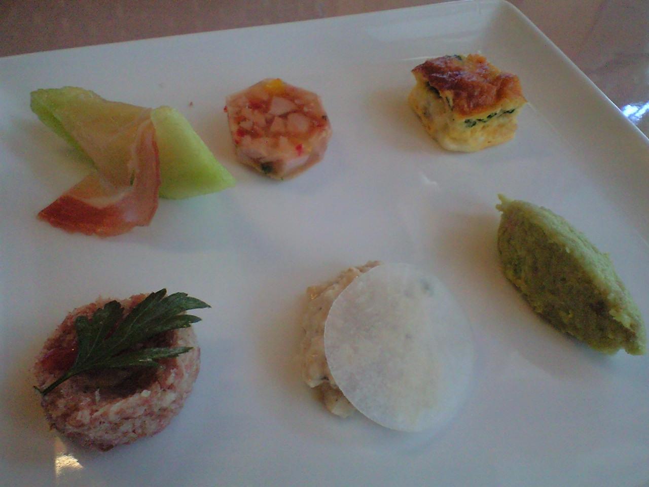 6種類の前菜