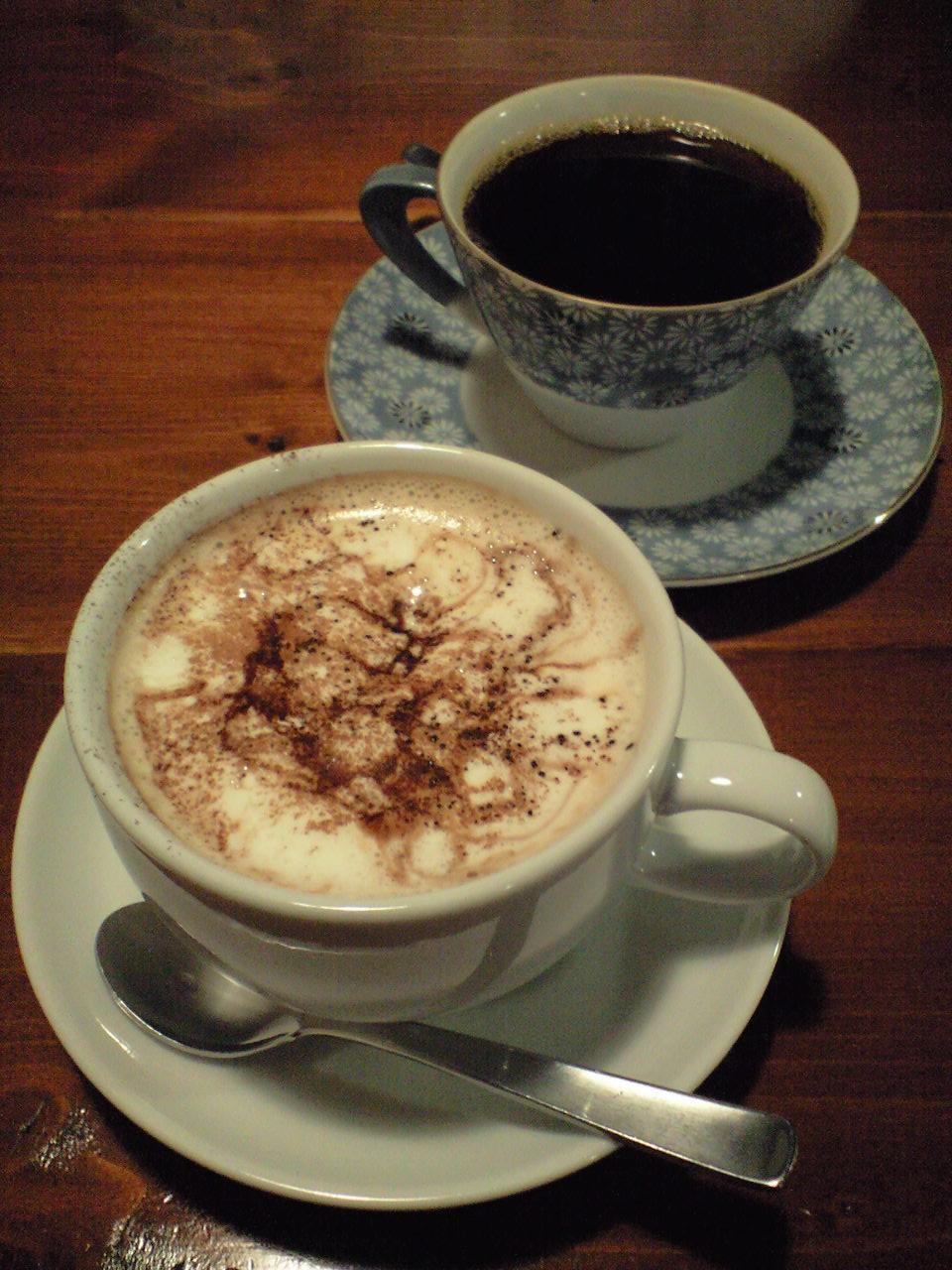 コーヒー豆の販売も始まった模様